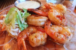 Gluten-free Honey-Lime Shrimp