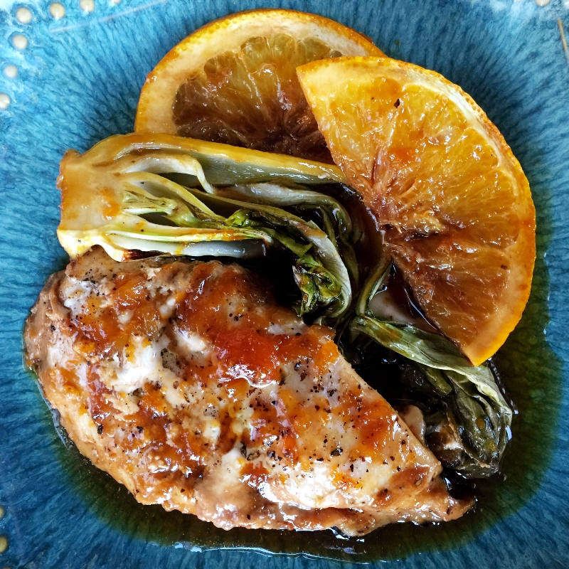 Gluten & Dairy-free Glazed Orange Chicken