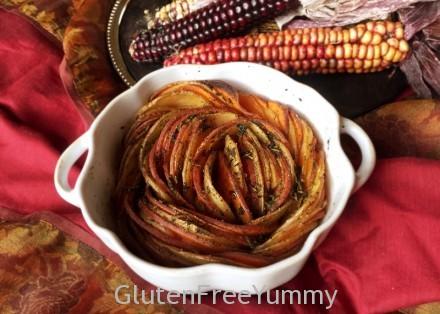 Gluten & Dairy-free Herbed Potato Swirl