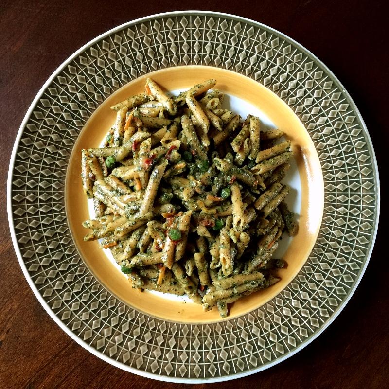 Modern Table Lentil Pesto Penne