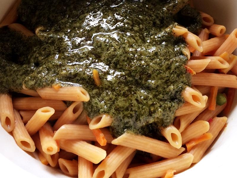 Modern Table Pesto Penne Sauce