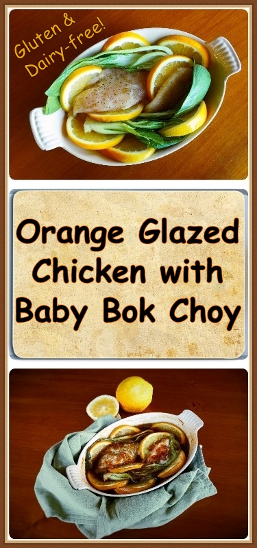GF-DF Orange Glazed Chicken with Baby Bok Choy