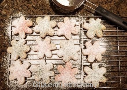 Dusted GF Sugar Cookies