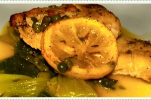 Lite Lemon Chicken Piccata