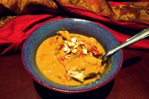 Coconut Cashew Korma with Chicken
