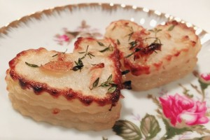 Sweetheart & Thyme Stacked Potatoes