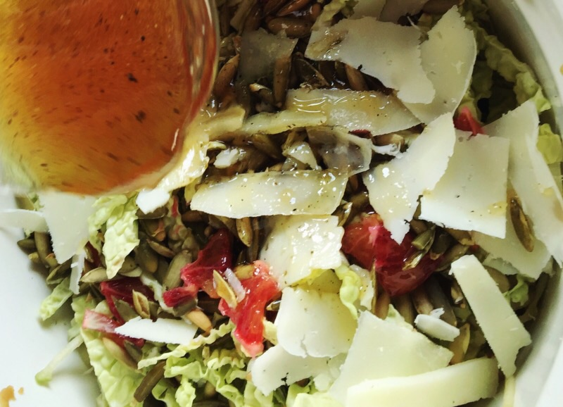 Honey & Blood Orange Salad Dressing