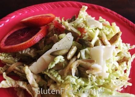 Pepitas & Manchego Blood Orange Salad