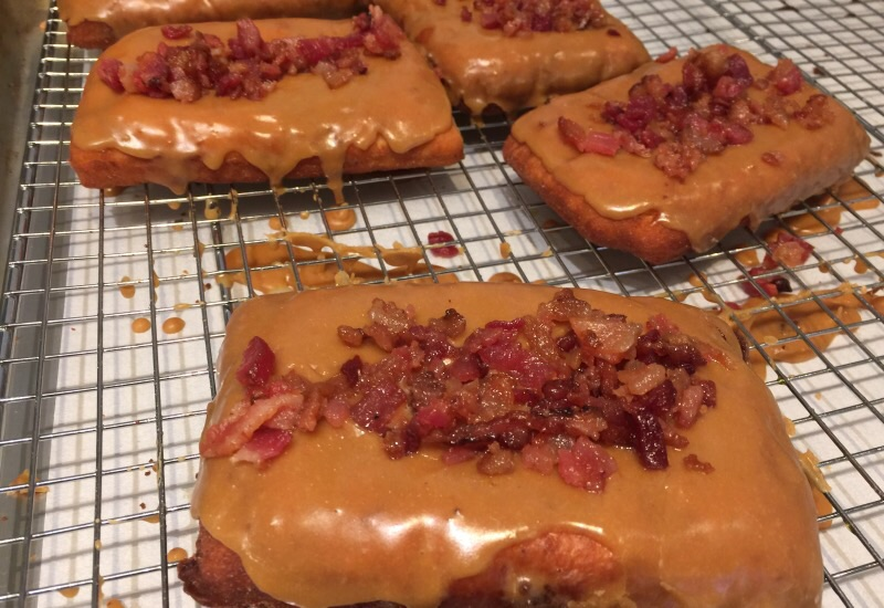 Gluten-free Maple Bacon Bars