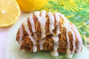 Gluten-Free Lemon-Ginger Scone