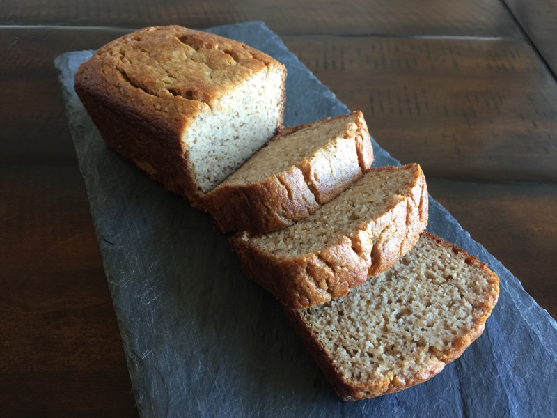 Moist Grain-free Banana Bread