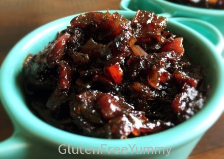 GF Caramelized Bourbon Bacon Jam