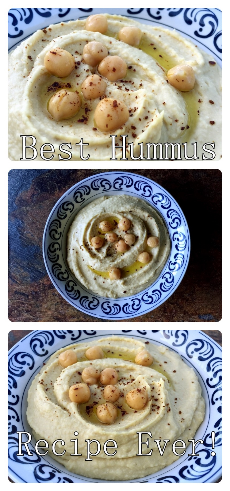 Hummus Collage