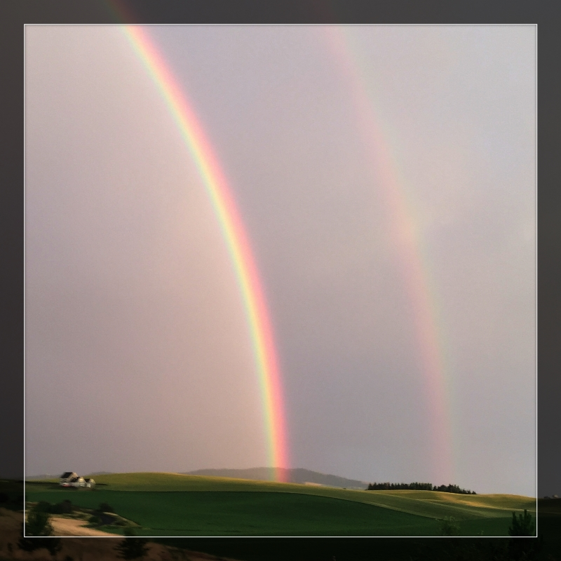 Rainbow on the Palouse