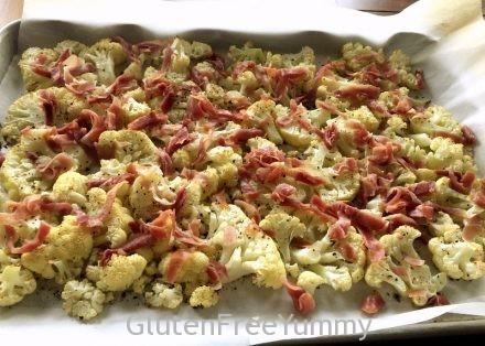 Adding Prosciutto to Cauliflower