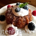 GF Vanilla Almond Mini Bundt Cakes