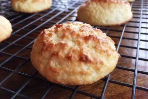 Coconut Rum Keto Cookies