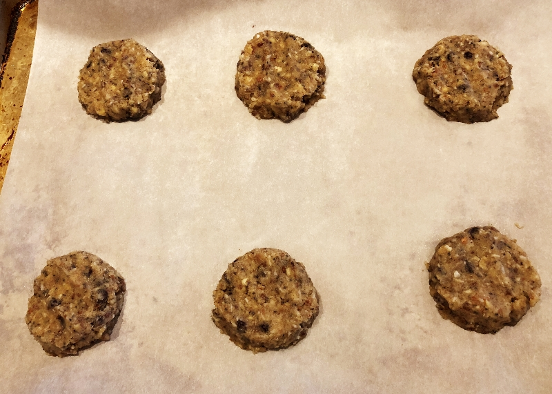 Keto Cookies Ready for the Oven