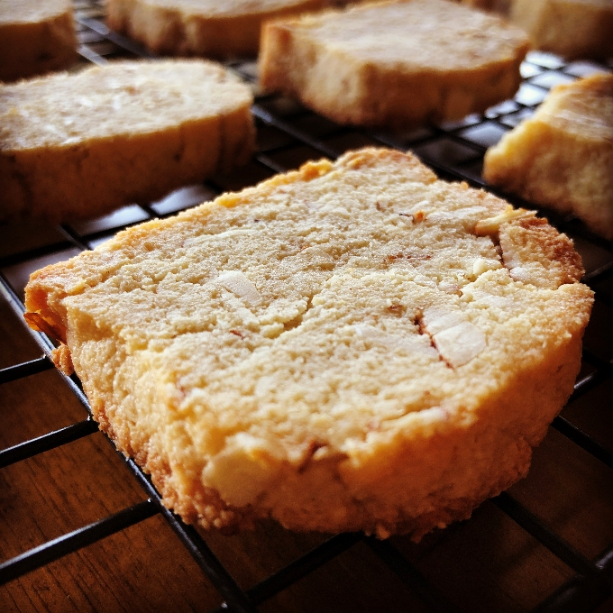 Keto Almond Shortbread Cookie